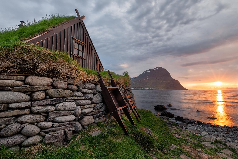 Die Westfjorde gehören zu den am dünnsten besiedelten Regionen Islands.