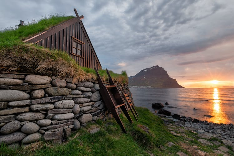 The Westfjords is one of the least populated regions in Iceland.