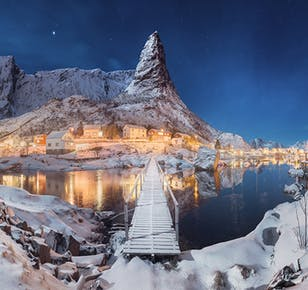 7-Day Winter Photo Workshop Capturing Norway's Lofoten Islands