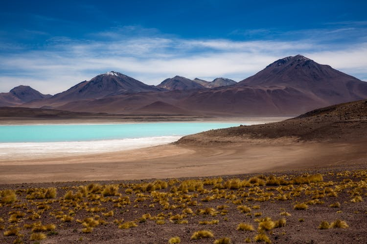 Laguna Verde is otherwise known as the Green Lagoon.