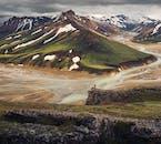 Les différentes textures et couleurs font de la région de Landmannalaugar dans les hauts plateaux un paradis pour les photographes