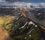 Winding rivers, snowy peaks and green valleys, the Icelandic highlands has it all.