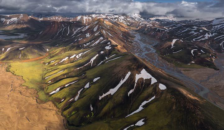 冰岛高地露营摄影团