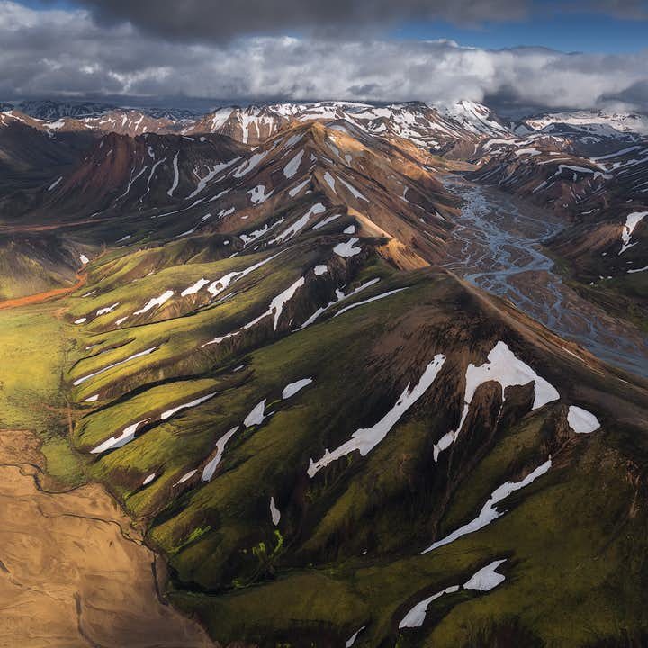 ทัวร์ถ่ายรูป 6 วัน ตั้งแคมป์ที่ไฮแลนด์ บน ไอซ์แลนด์