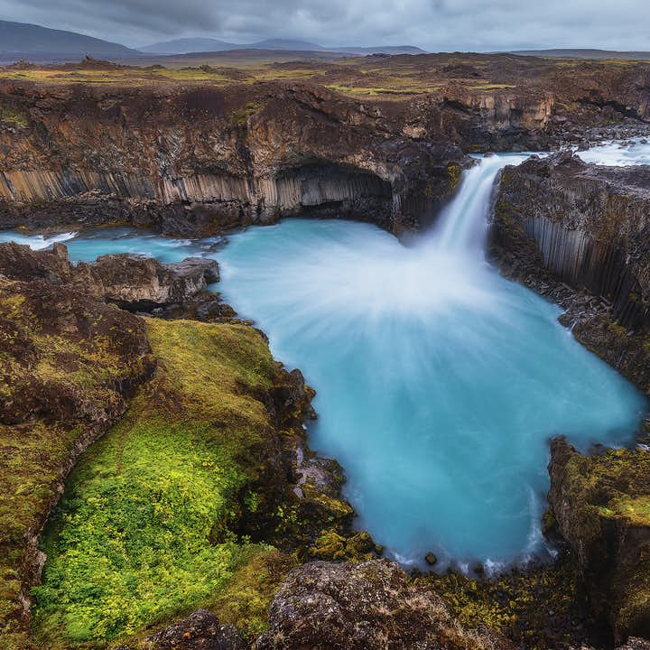 Iceland is a land defined by its waterfalls.
