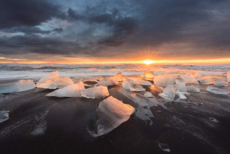 Diamond Ice Beach