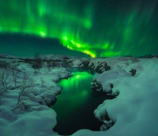 7泊8日冬の写真ワークショップ|氷の洞窟とオーロラに挑む