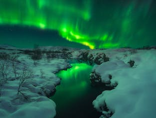 8 Day Northern Lights & Ice Cave Winter Photo Workshop in Iceland width=
