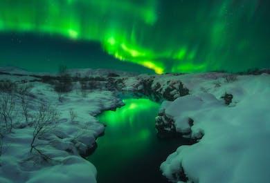 Taller de fotografía de 8 días | Auroras boreales y cuevas de hielo en Islandia