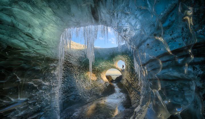 4-tägige Fotoreise zu den Nordlichtern und Eishöhlen