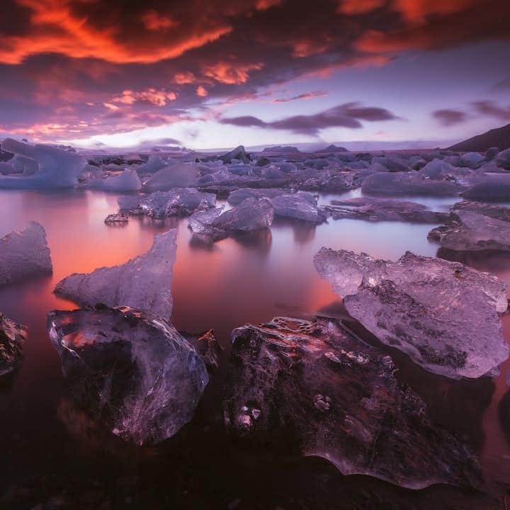 南海岸とヴァトナヨークトル国立公園の写真ワークショップ(2泊3日)