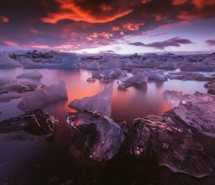 Excursion photo de 3 jours sur la Côte Sud et dans le parc national du Vatnajökull