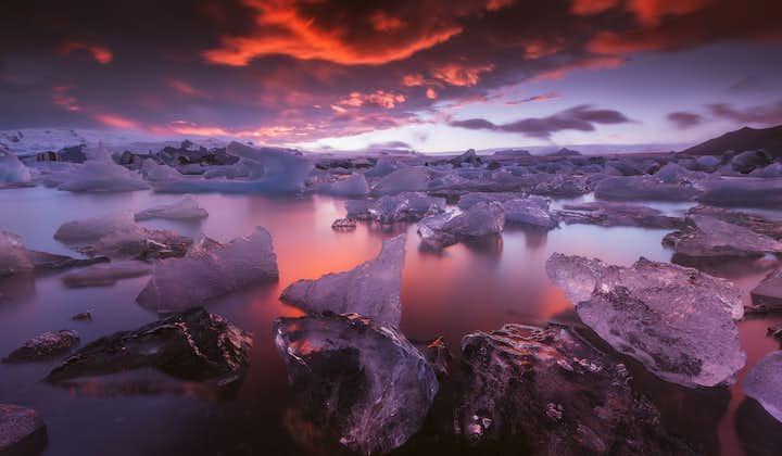 Tour fotografico di 3 giorni della Costa Meridionale e del Parco Nazionale di Vatnajokull