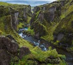 Stunning canyons and luscious flora can be found all over Iceland in the summer.