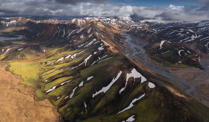 The multicoloured mountain ridges of Iceland's Highlands are a dream to photograph and make for beautiful pictures.