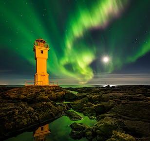 กิจกรรม 10 วันถ่ายภาพแสงเหนือ และถ้ำน้ำแข็งในประเทศไอซ์แลนด์