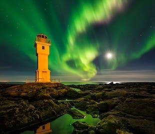 10-tägige Winter-Fotoreise, Island unter Nordlichtern