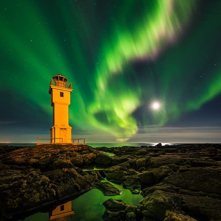 Taller de fotografía de 10 días   Auroras boreales y cuevas de hielo en Islandia