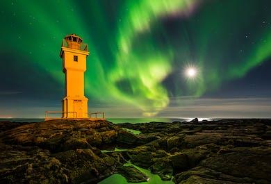 Atelier photo 10 jours aurores boréales et grotte de glace en Islande