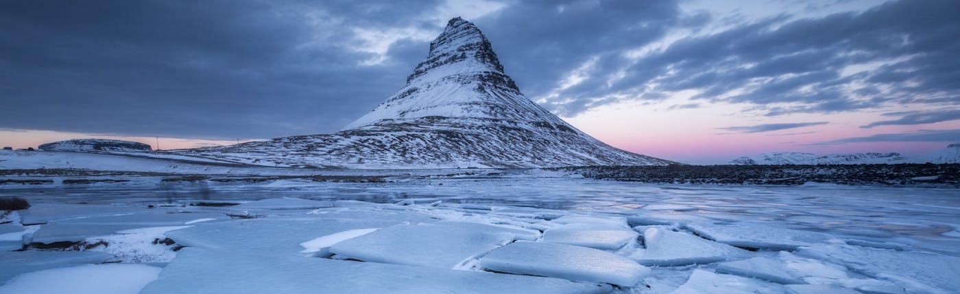 Winter at Kirkjufell