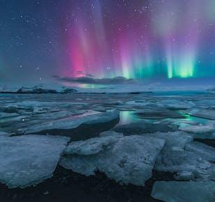 5 Day Winter Photo Workshop | South Coast, Glacier Lagoon & Waterfalls