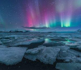 5 Day Winter Photo Workshop   South Coast, Glacier Lagoon & Waterfalls