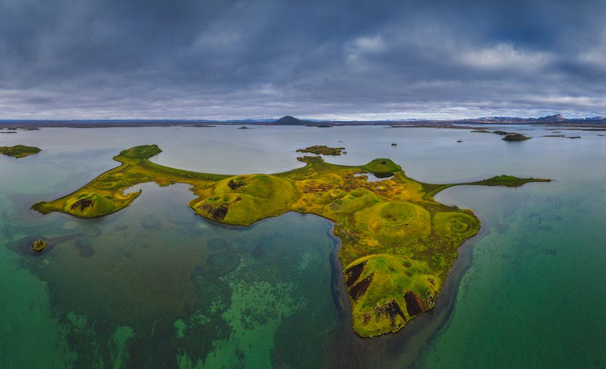Iceland from above - Photo by Iurie Belegurschi