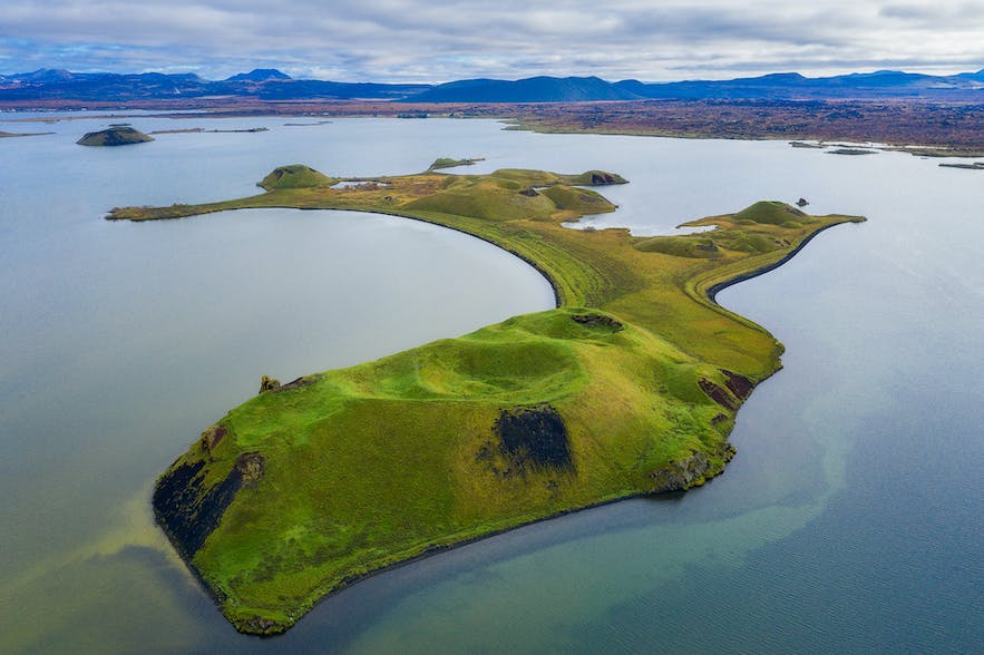 Island from above - Photo by Iurie Belegurschi