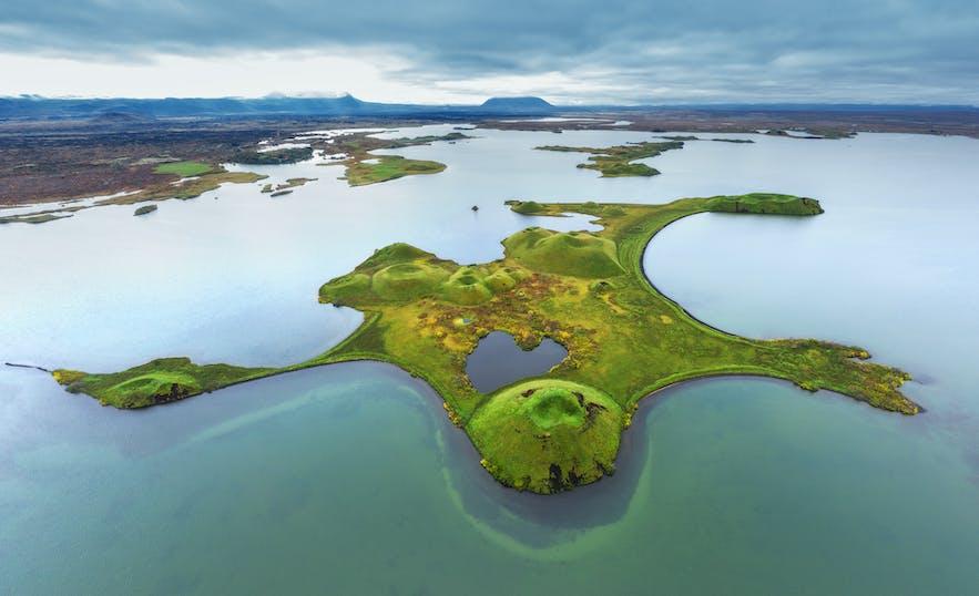 Crater in Iceland - Photo by Iurie Belegurschi