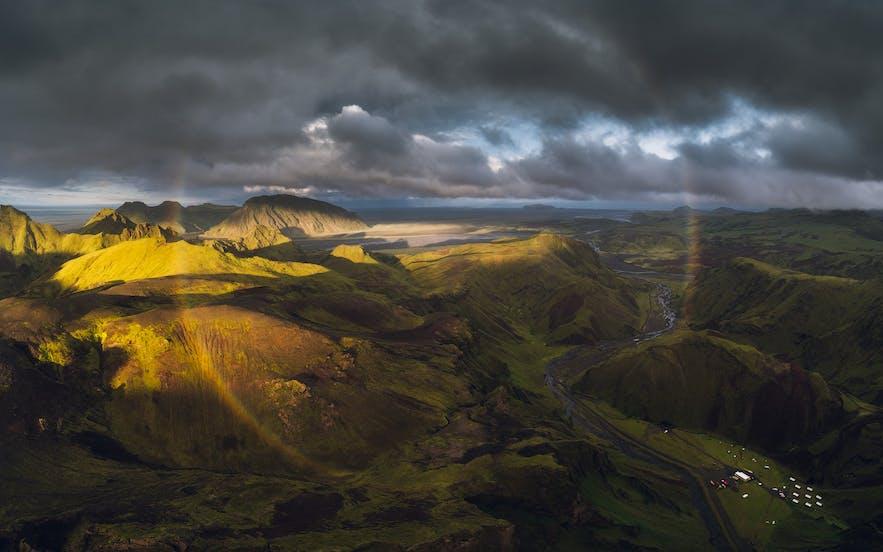 Rainbow in the Highlands - Photo by Iurie Belegurschi