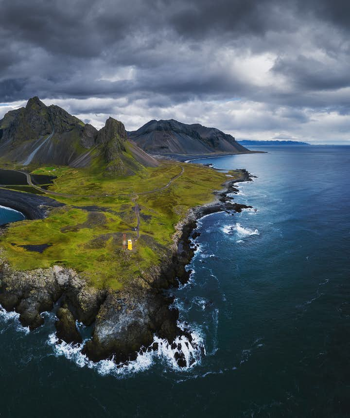 Aerial view of Iceland - Photo by Iurie Belegurschi