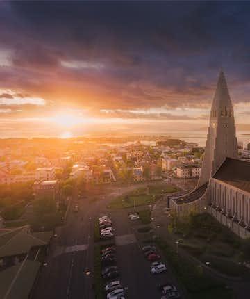 Hallgrimskirkja in Reykjavik - Photo by Iurie Belegurschi