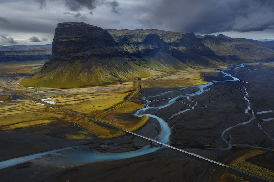 Lomagnupur from the sky - Photo by Iurie Belegurschi