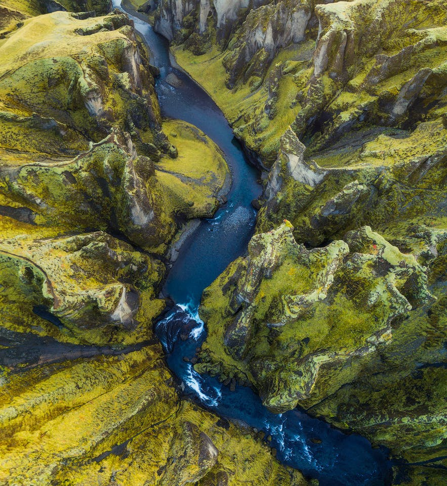 Canyon below - Photo by Iurie Belegurschi