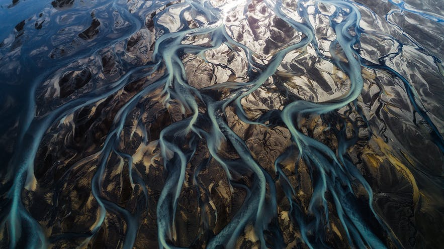Glacial rivers in Iceland - Photo by Iurie Belegurschi