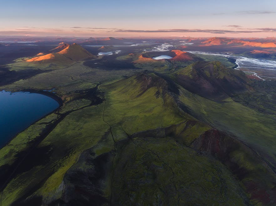 Aerial photography in Iceland - Photo by Iurie Belegurschi