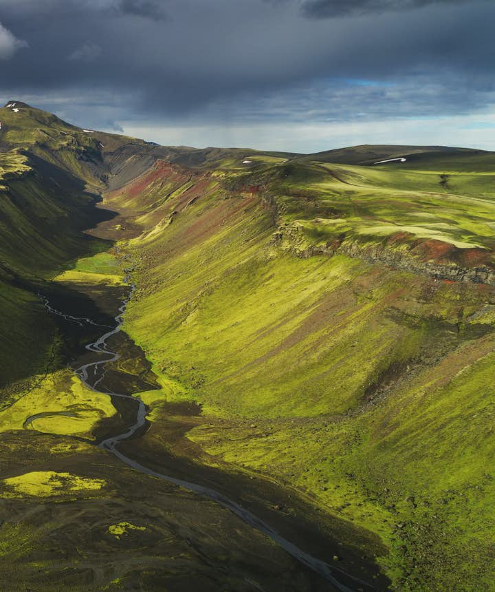 Oasis in Iceland - Photo by Iurie Belegurschi