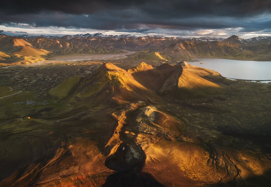 Aerial view of the Highlands - Photo by Iurie Belegurschi