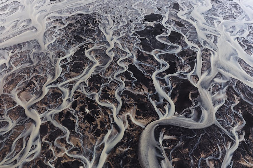 Braided river system - Photo by Iurie Belegurschi