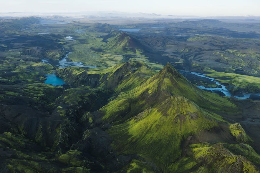 Lush green valleys in Iceland - Photo by Iurie Belegurschi