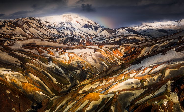 夏の写真ワークショップ6日間|アイスランドのハイランド地方でキャンピング