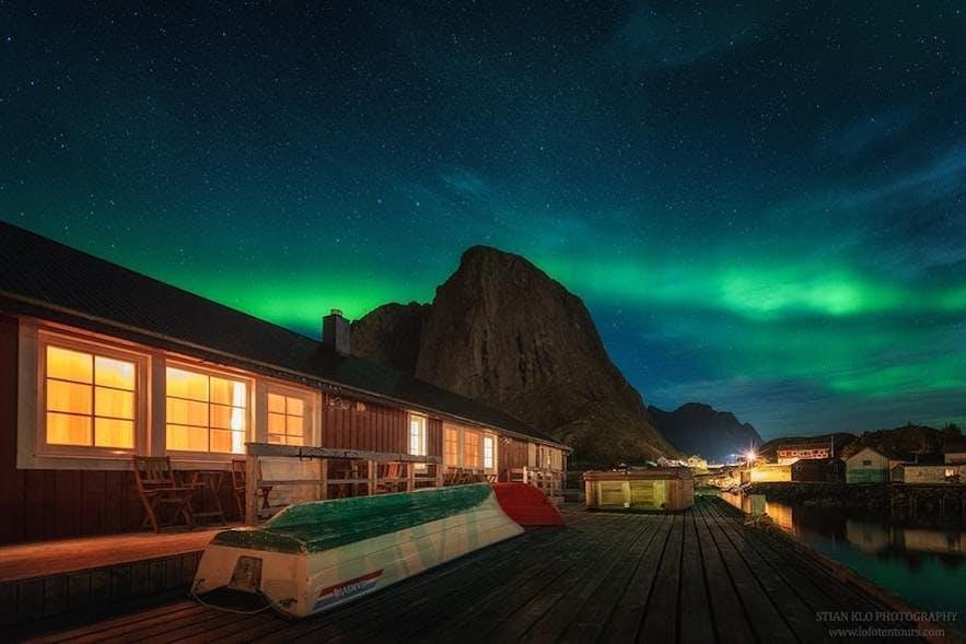 Fishing cabins in Lofoten