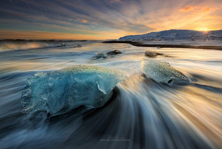 Diamond Ice Beach - Photo by Patrick Marson Ong