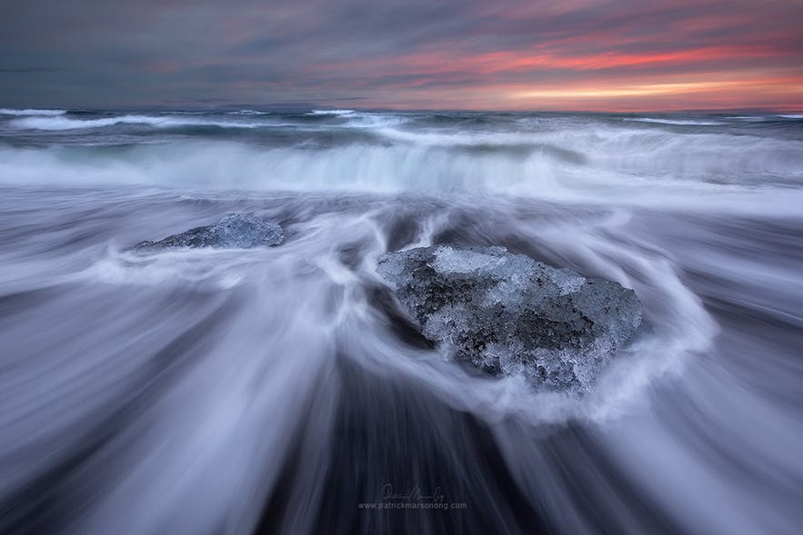 Diamond Ice Beach - Photo by Patrick Marson Ong
