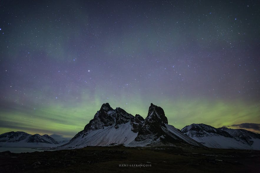Aurora Borealis requires a dark sky - Photo by Dani Lefrancois