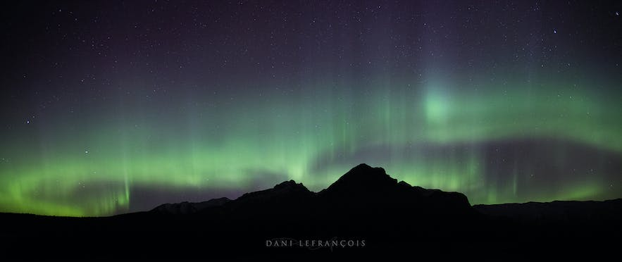 Evaluative metering is best when photographing Northern Lights - Photo by Dani Lefrancois