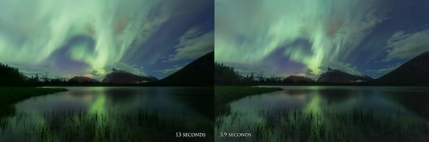 Keep your shutter speed around 5 seconds or less - Photo by Dani Lefrancois