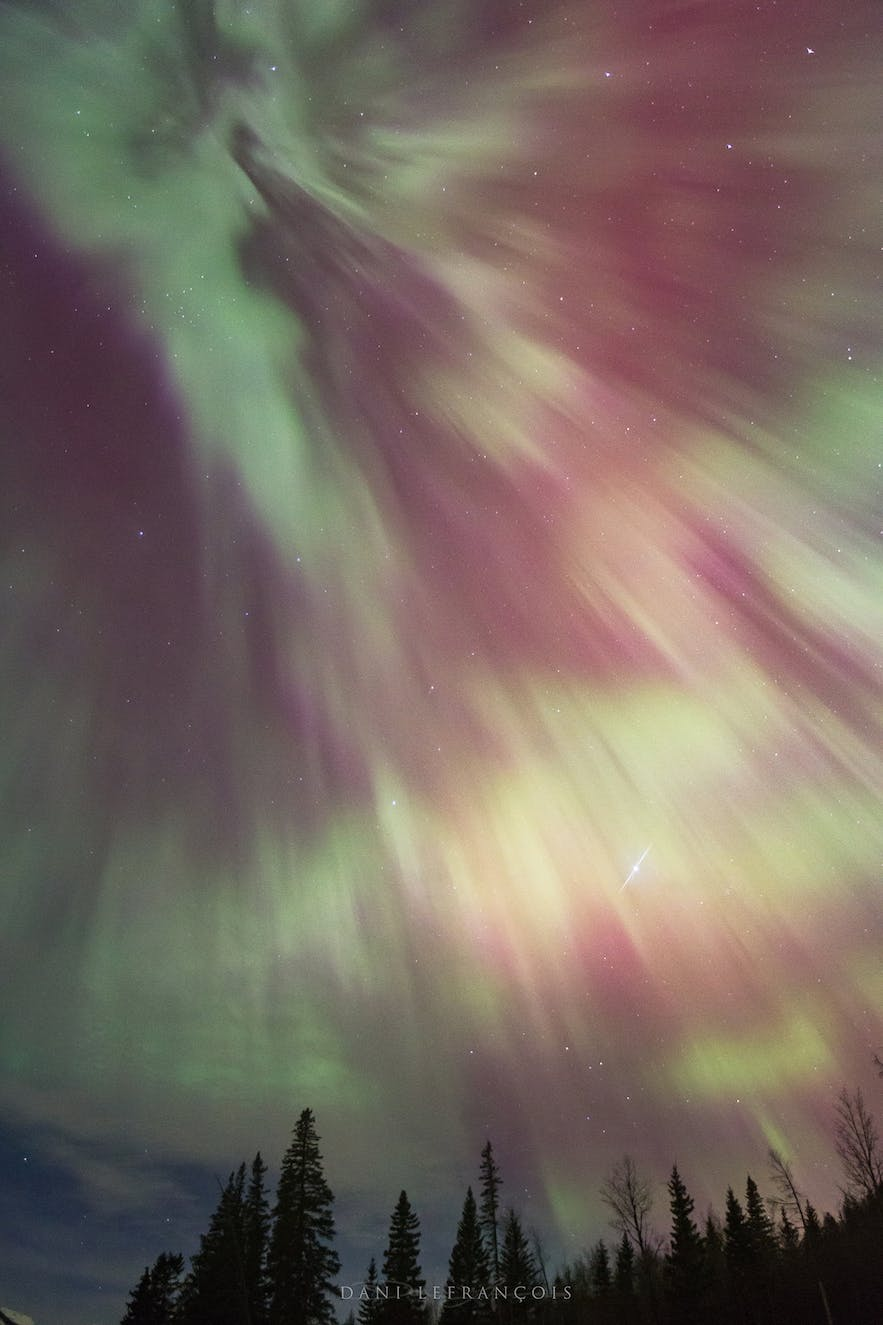Northern Lights corona - Photo by Dani Lefrancois