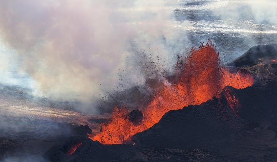 Bardabunga and Holuhraun Eruption