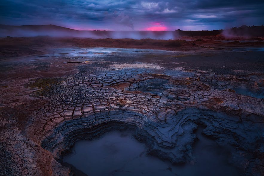 Geothermal area in Iceland  - Photo by Albert Dros